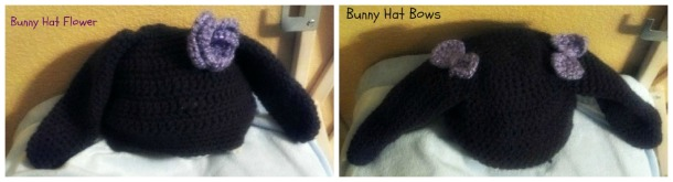 bunny hat collage