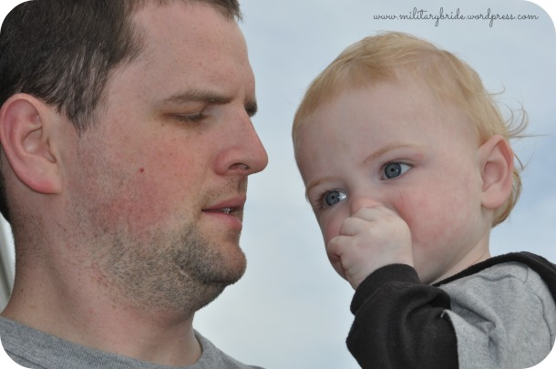 Daddy and Blue Eyes, one of my new favorite pictures