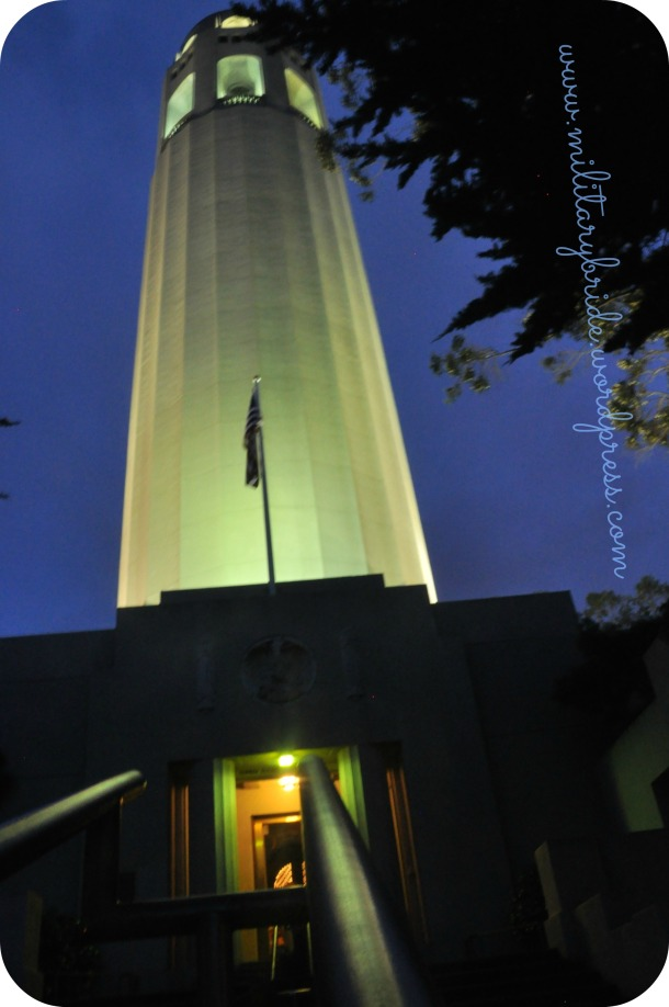 The beautiful Coit Tower
