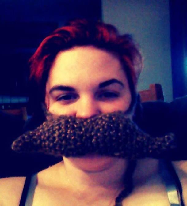 Crocheted Mustache!