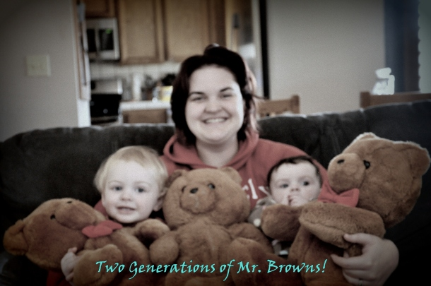 Mr. Browns aka Honey Jo bears with my babies