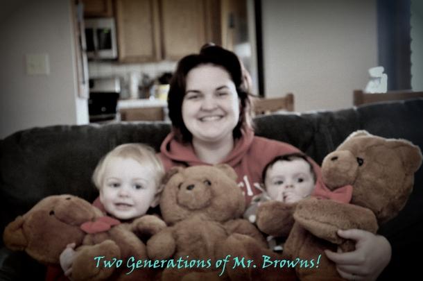 Mr. Browns aka Honey Jo bears with my babies