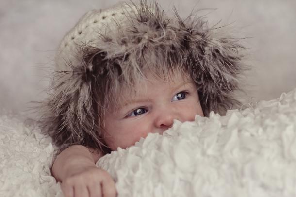 little blue eyes