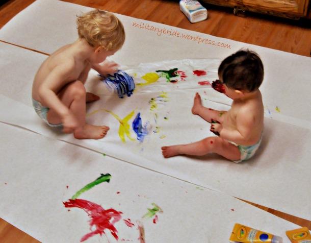 Finger Paints!