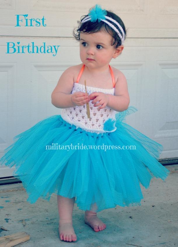 Happy First Birthday Snow White!!!