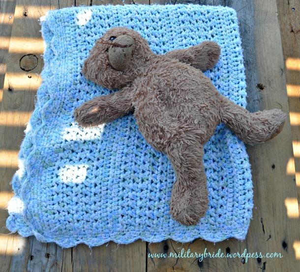 Blue Eye's Baby Blanket